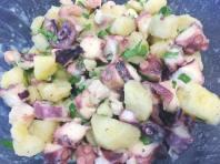 Insalata tiepida di polpo e patate