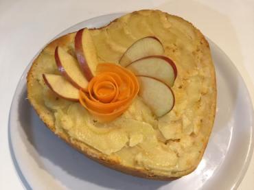 Torta di mele e carote