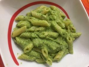 Pasta al pesto di broccoli