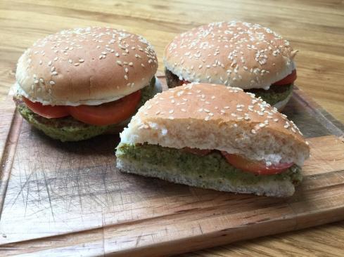 Burger di broccoli
