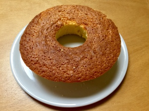 Torta nuvola all'arancia e limone