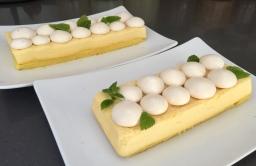 Meringa al limone con melissa