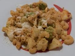 Pasta con 'nduja e broccolo romanesco