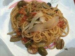 Spaghettoni aromatici al Parmigiano Reggiano
